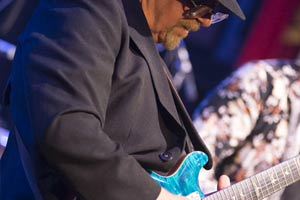 Steve Freeman guitarist with Santana tribute show
